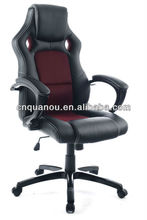 racing Chair Modern Design Swivel leather and mesh Bucket seat chair QO-8111