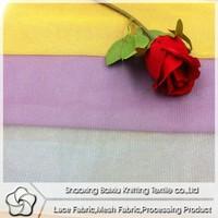 2015 China fashion 100 polyester shiny dress lining fabric for Wedding dress/kids skirt