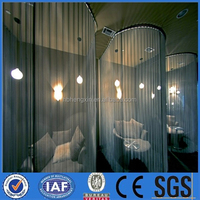High-quality Metal Decorative wire Mesh/stainless steel decorative curtain screen(manufacturer)
