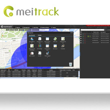 Meitrack gprs google map online gps tracking with User Friendly Exiperience