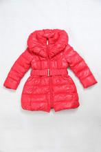 Princess Collar Baggy Girls Down Jacket