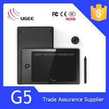 UGEE Model G5 Drawing Tablet with Hot Keys Wireless Pen