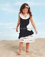 Wholesale Plus Size Dreess Baby Girls Cotton Princess Dress