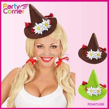Mini Bavarian Alpine Top Hat For Oktoberfest