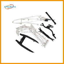 Made in china black & white motorcycle frame fit CRF250