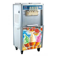 high quality soft ice cream making machine with five flavors