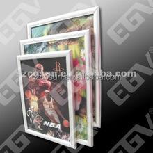 indoor customize size aluminium snap fram slim light box SMD2835