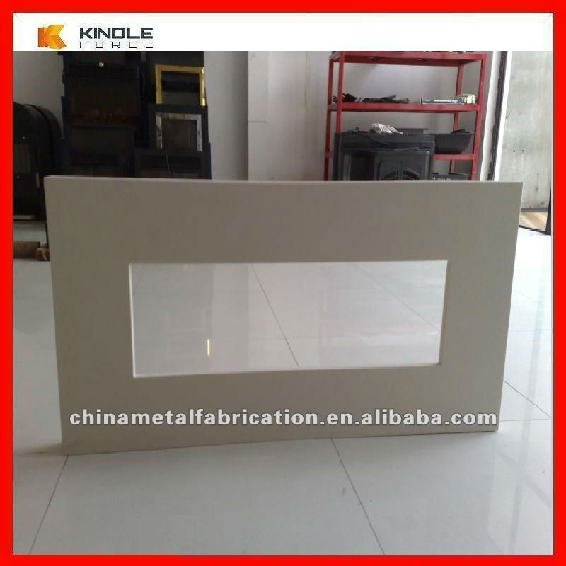 Durable 304 Stainless Steel Fireplace Surrounds