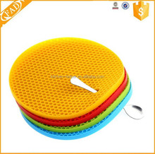Professional Supply Practical Round Insulation Silicone Mat