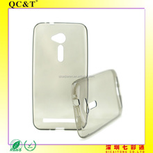 Clear Case Without Texture Soft TPU Mobile Phone Cover For Asus ZF2 ZE500CL 2E
