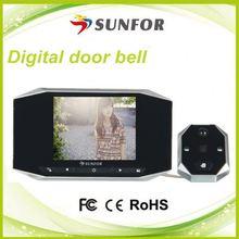 ホットな有線ビデオドアデジタルピープホールカメラ
