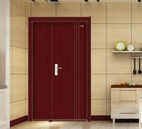 Son and mother door PVC wooden door from China door maunfacturer