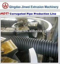 Double Wall Plastic Corrugated Pipe Machine