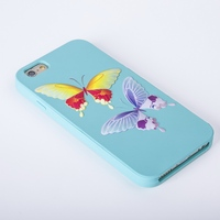 custom fast delivery silicone 3d colours printing phone case for iphone 6
