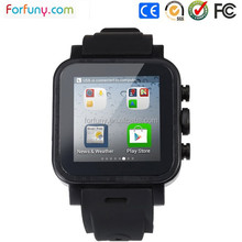 3g Android Smart phone watch with GPS WIFI HD camera and waterproof