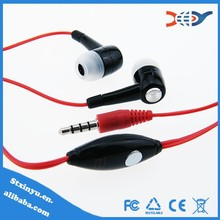 Free sample in ear earphone for mobile phone