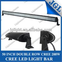 HOT!!!cree off road led light bar,auto car accessory double row led light bar JG-ULB288