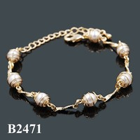 Fashion Pearl Bracelet, Bracelet Pearl Jewelry Artificial Imitation Pearl