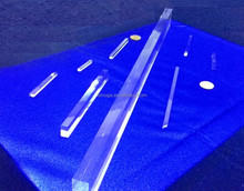 Fused Silica Rod( 193---248---308--365 semiconductor( Project) 100mm--700,mm)
