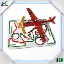 Children DIY Games 3D Paper Model Puzzle 3D Puzzle Plane