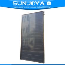 Split Aluminium Absorber Copper Pipe Portable Solar Water heater Flat Panel
