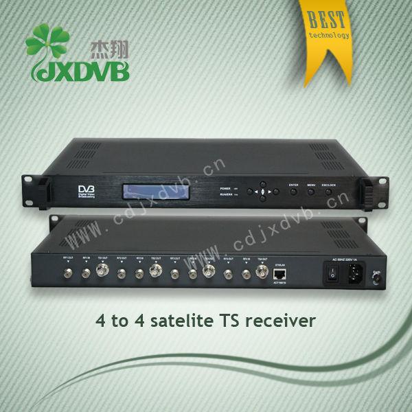 Récepteur satellite avec connexion internet