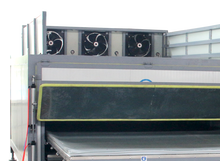 Germany technology heating and vacuum laminated glass oven