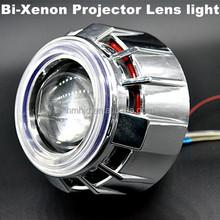 xenon bulbs h4 low hid bi xenon projector lens light angel eyes and devil eyes