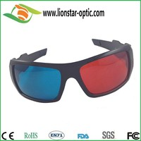 Watch 3D Movies with 3D Stereoscopic Glasses with Plastic Frame