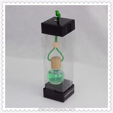 Hot wholesale hanging bottle car air freshene/perfumer, aroma liquid hanging car perfume for car
