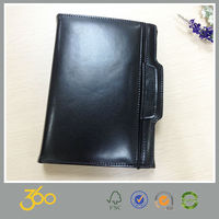 Promotional l mini notebook leather , traveler's notebook