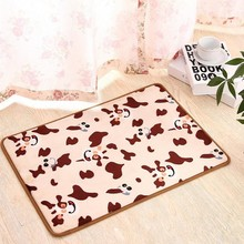 Brand high quality fashion design cartoon bedroom living room kitchen doormat carpet printing absorbent non-slip mat