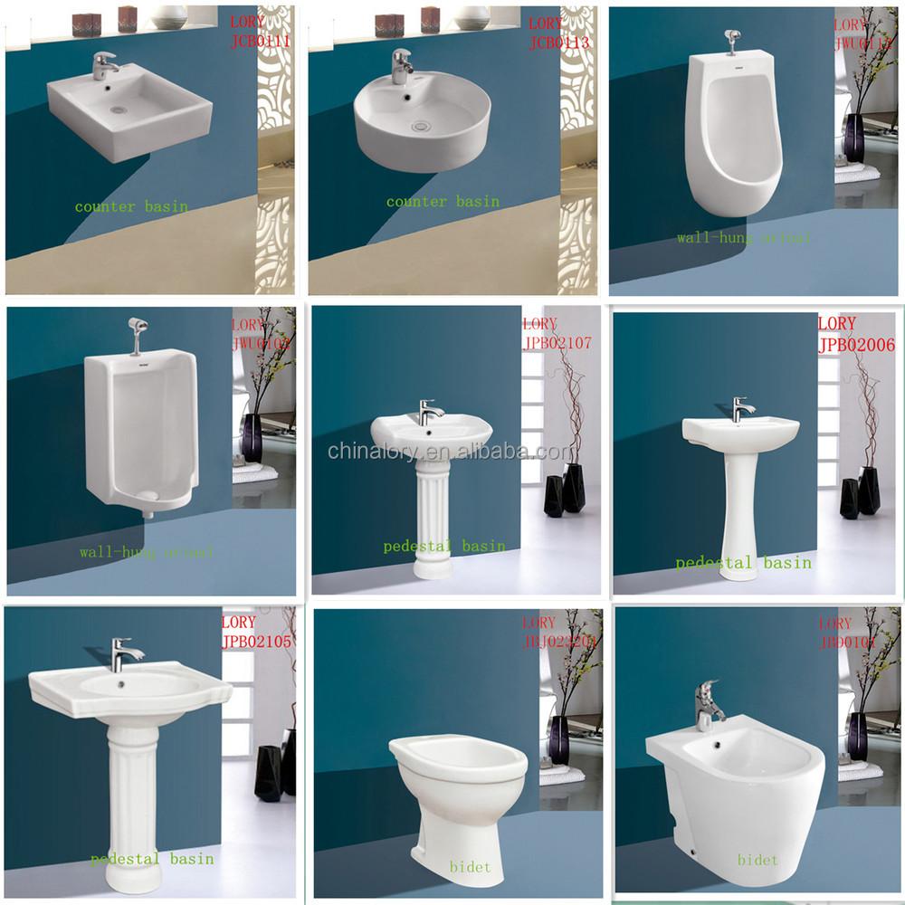 High Quality Modern Bathroom Hidden Tank Toilet Wash Down Closet