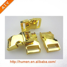 high quality silver color quick side release metal buckle for pet collars