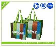 Customized reusable pp woven fabric manufacturers custom india shopping bags