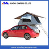 """A"" frame mounting roof top tent folding bed offroad camp tent family camping lodge"