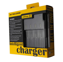 High Quality 18350 and 18650 Battery Charger Nitecore i4 solar panel battery charger 3.7v