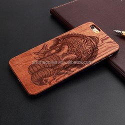 OEM/ODM real natural wood cover Mobile Phone Accessories ,Laser Engraved LOGO Wooden Phone Case for iPhone