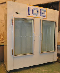 gas station ice storage bin , outdoor bagged ice storage bin , ice storage containers