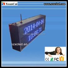 Red/Blue/Green RF wireless communication Outdoor P10-32x96 RF wireless communication LED message display