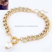 2015 fahion wholesale necklace plain chain