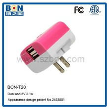 2 port travel charger for nokia c7 portable micro usb charger
