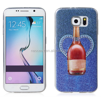 TPU mobile phone cases Cowboys phones shell bulk phone cases for Galaxy S6, accept paypal