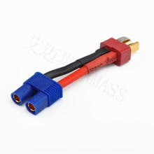 T plug male to EC3 male connector,conversion plug line for model