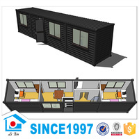 Malaysia Prefab Luxury Container House Kit Modular House