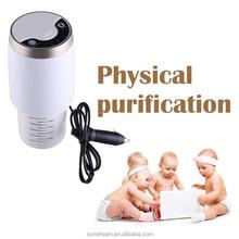 Best purifying effect mini car fresh air purifier auto laftreiniger ioniz perfume in car vehicle ion air purifier