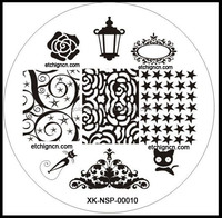 2015 hot stainless steel nail stamping plates, custom nail art stamping plates, embedded steel plates