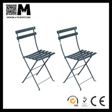 cheap living room furniture metal folding side chair steel living room chair for sale