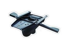 durable aluminum replacement furniture hardware
