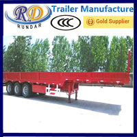 Popular hotsell comic low bed 20 ton cargo trailer